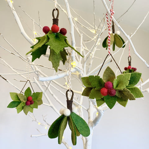 woodland wonders festive decorations set