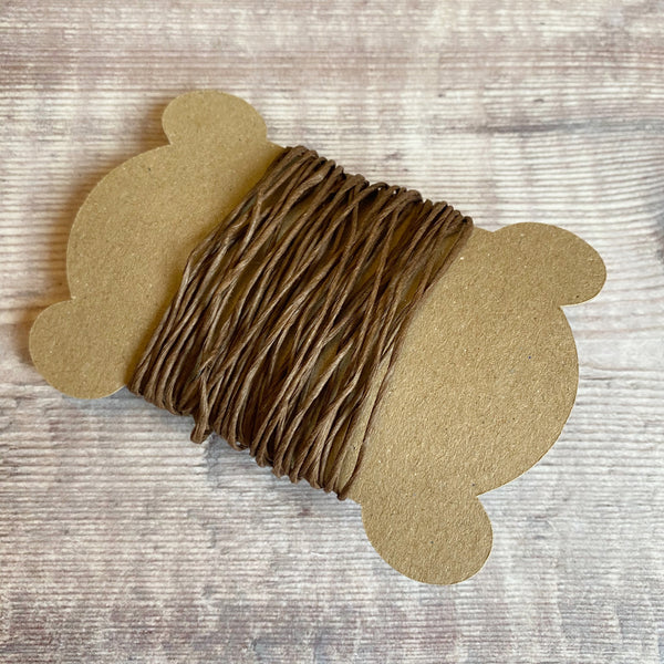 florist binding wire brown