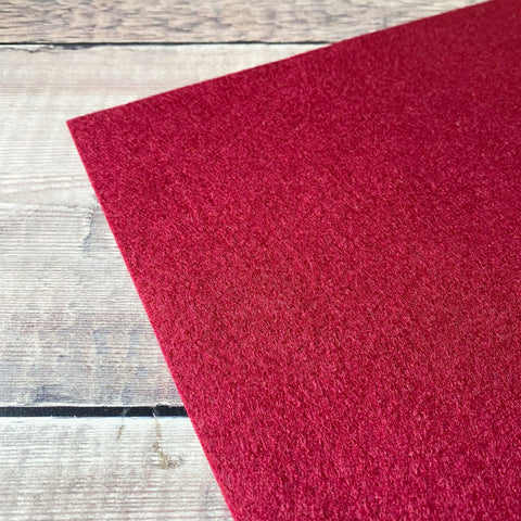 Makealong 2021: Grandma's Garnet felt sheet