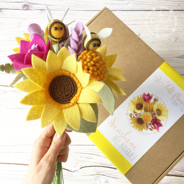Sunshine Bee Bouquet craft kit