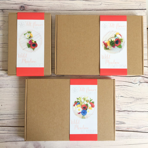 Wild Meadow craft kit bundle
