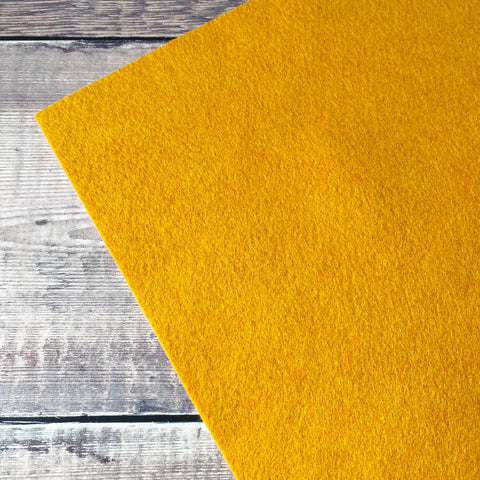 Makealong 2021: Butternut Squash felt sheet