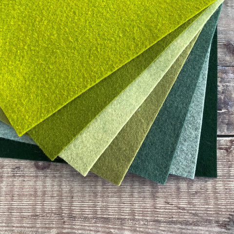 Felt pack: Evergreen Bouquet