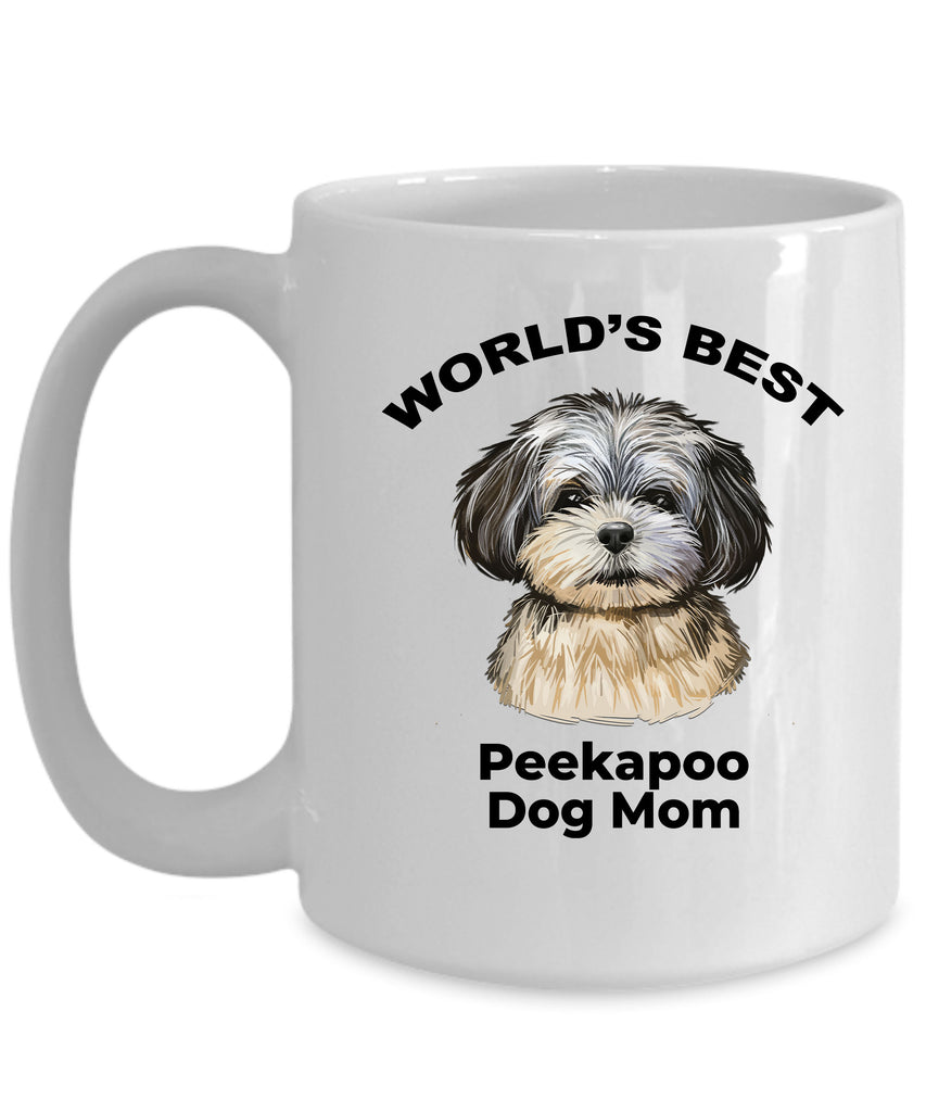 Peekapoo Best Dog Mom Coffee Mug