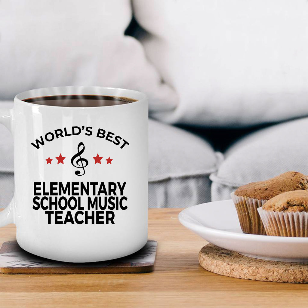 Elementary School Music Teacher Mug