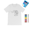 Elephant Mandala Coloring T-Shirt