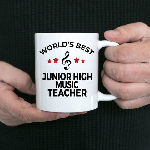 Junior High School Music Teacher Mug