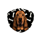 Bloodhound Dark bones Sublimation Face Mask