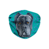 Cane Corso Dog Teal Sublimation Face Mask