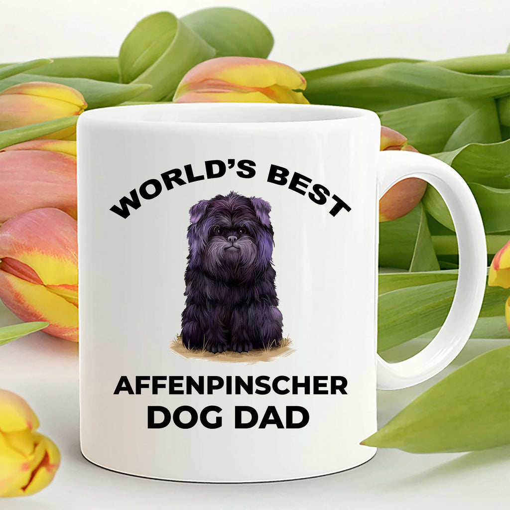 Affenpinscher Dog Best Dad Coffee Mug