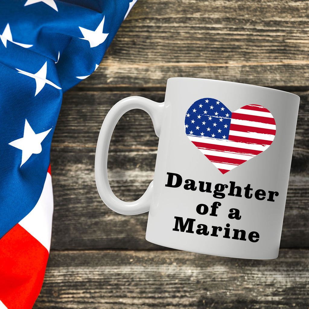 Daughter of a Marine Coffee Mug
