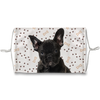 French Bulldog Puppy Paw Print Sublimation Face Mask