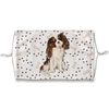 Cavalier King Charles Spaniel Tricolor Sublimation Face Mask