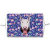 Bull Terrier Dog Blue Floral Sublimation non-medical Face Mask