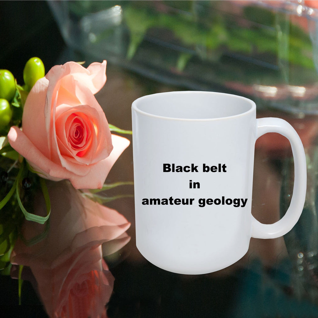 Amateur Geology Funny Coffee Mug