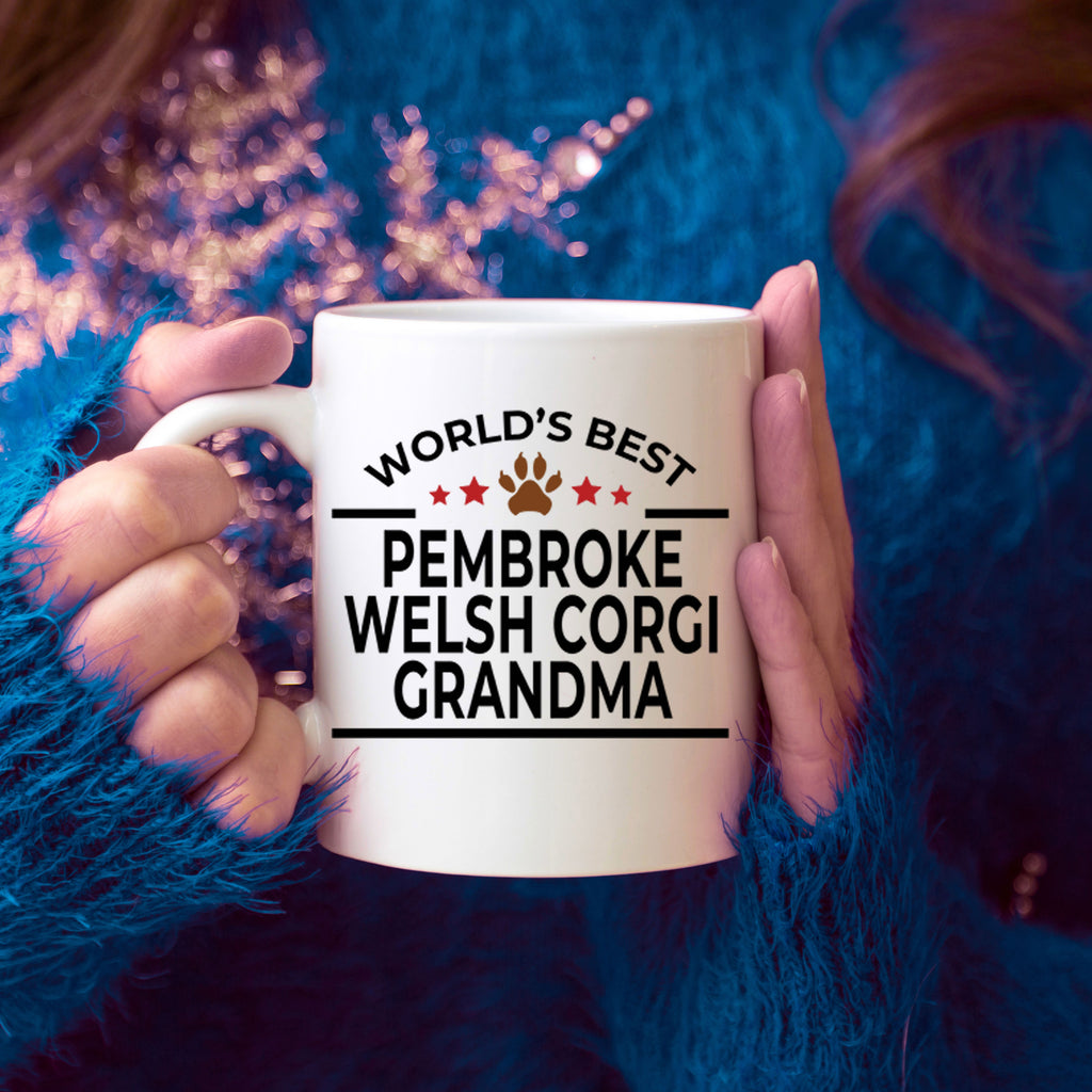 Pembroke Welsh Corgi Dog Grandma Coffee Mug