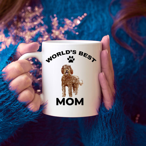 Labradoodle Best Mom Coffee Mug