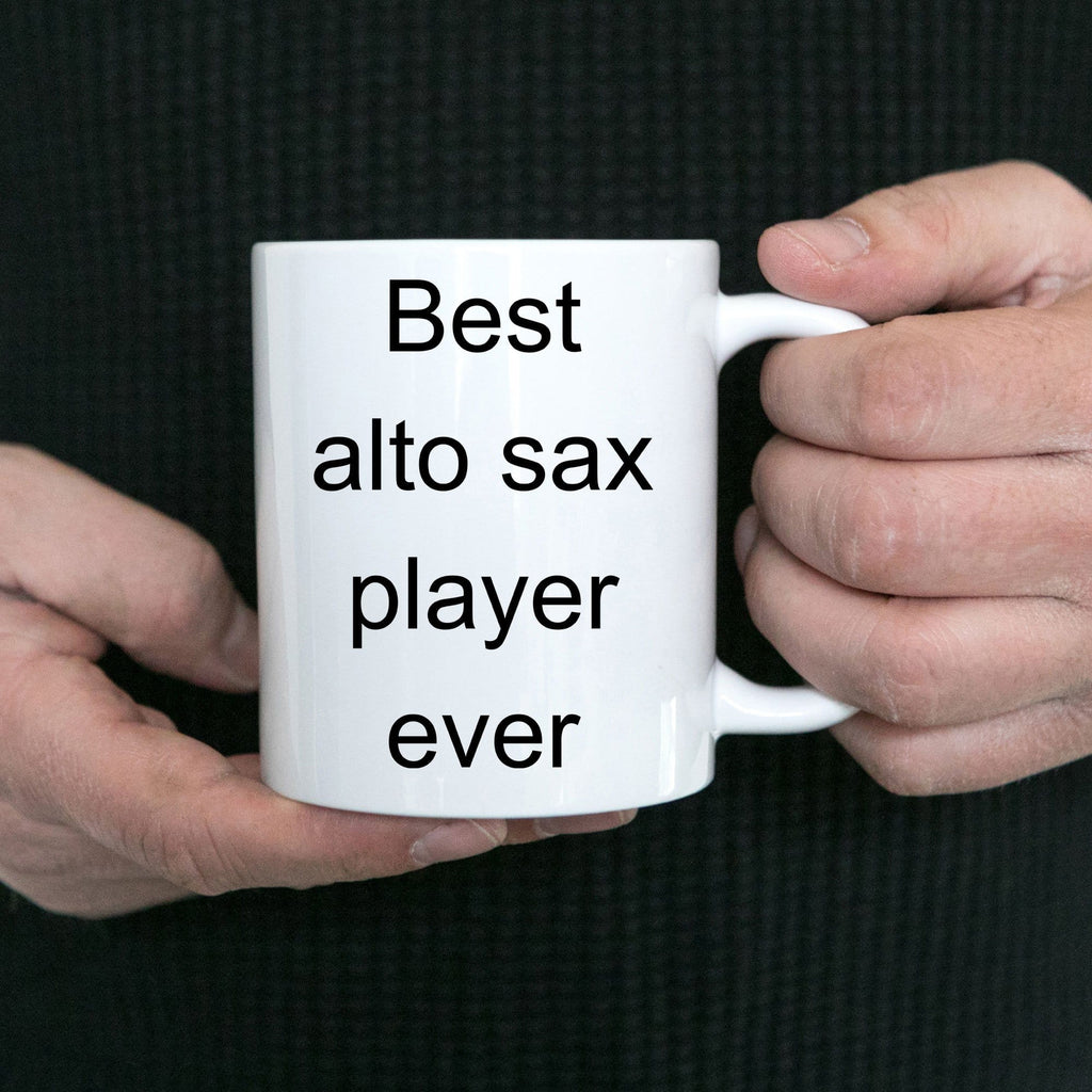 Alto Sax Player Mug