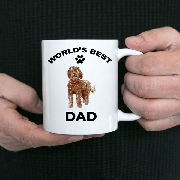 Labradoodle Best Dad Coffee Mug