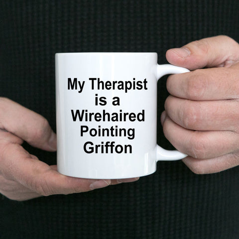Wirehaired Pointing Griffon Dog Therapist Coffee Mug