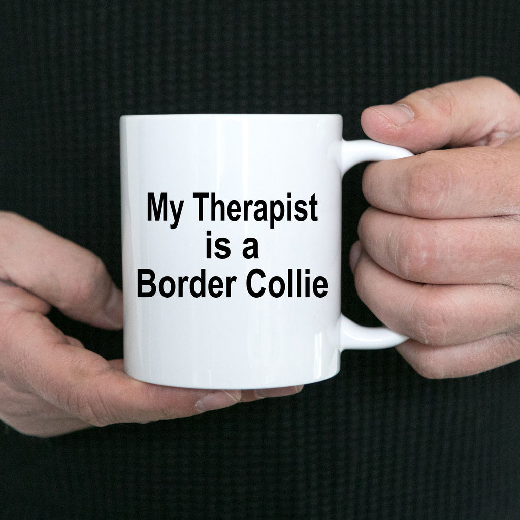 Funny Border Collie Dog Therapist Coffee Mug