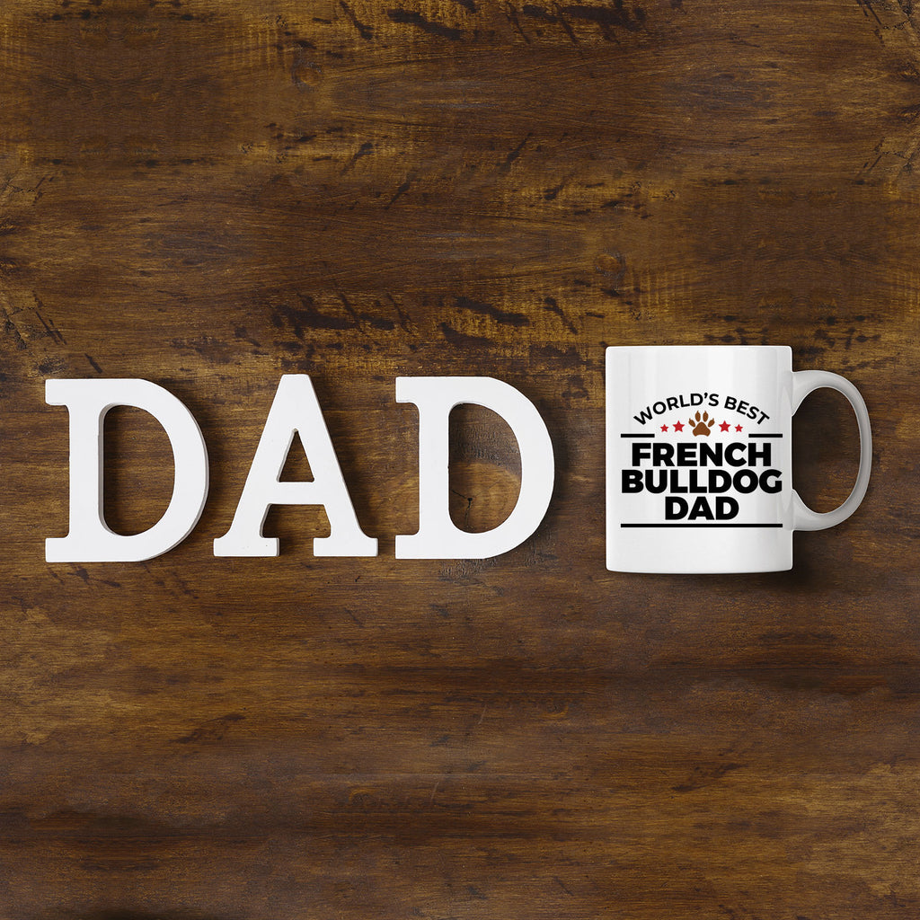 French Bulldog Dad Ceramic Mug