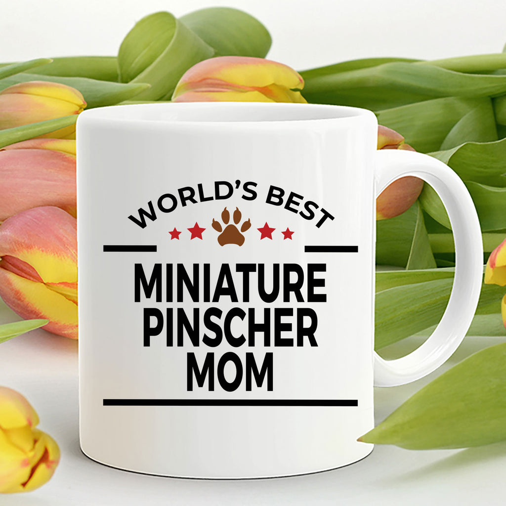 Miniature Pinscher Dog Mom Coffee Mug
