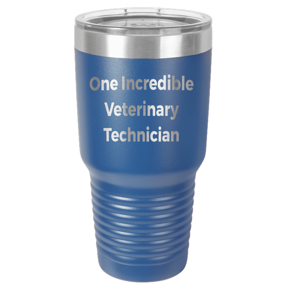 Veterinary Technician Polar Camel - 30 oz Ringneck Tumbler {Laser Etched No Colored Art}