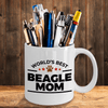 Beagle Dog Mom Coffee Tea Mug
