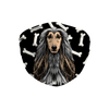 Afghan Hound Dark Bones Sublimation Face Mask