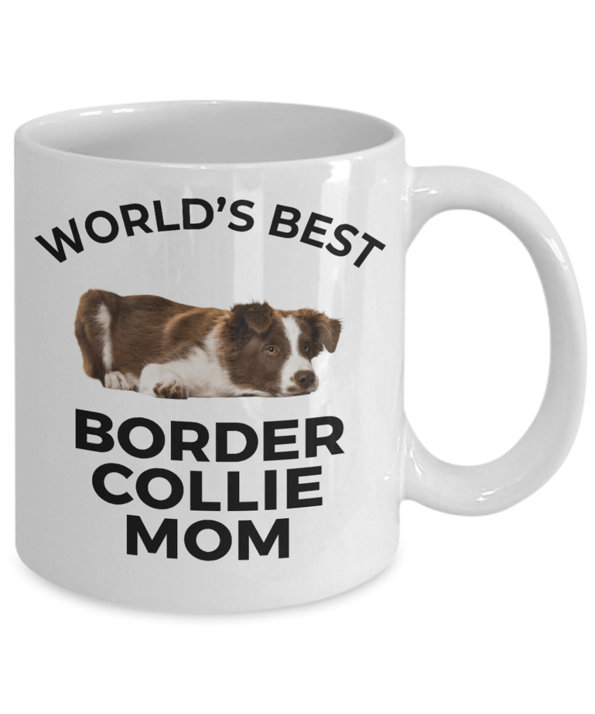 Border Collie Puppy Dog Mom Coffee Mug