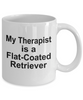 Flat-Coated Retriever Dog Therapist Mug