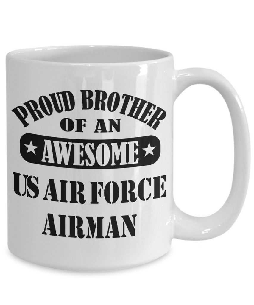US Air Force Proud Brother Coffee Mug