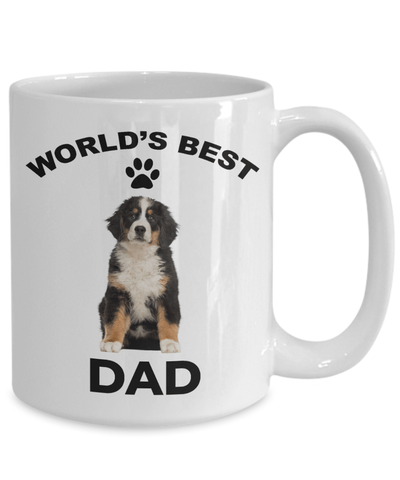 Bernese Mountain Dog Best Dad Coffee Mug