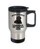 Labrador Retriever Black Puppy Dog Lover Stainless Steel Travel Coffee Mug