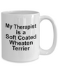 Soft Coated Wheaten Terrier Dog Therapist Coffee Mug
