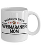 Weimaraner Dog Mom Coffee Mug