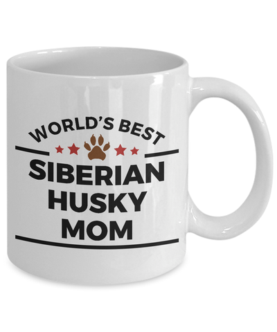 World's Best Siberian Husky Mom Ceramic Mug