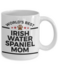 Irish Water Spaniel Dog Mom Coffee Mug