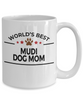 Mudi Dog Mom Coffee Mug
