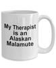 Alaskan Malamute Dog Therapist Coffee Mug