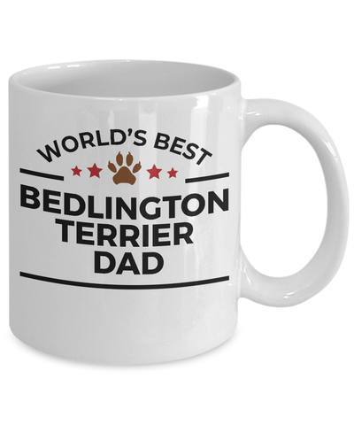 Bedlington Terrier Dog Dad Coffee Mug