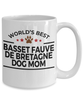 Basset Fauve de Bretagne Dog Mom Coffee Mug