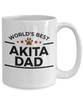 Akita Dog Dad Coffee Mug
