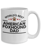 American Foxhound Dog Dad Coffee Mug
