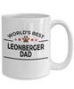 Leonberger Dog Dad Coffee Mug