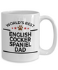 English Cocker Spaniel Dog Dad Mug