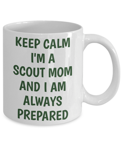 Keep Calm Scout Mom Mug
