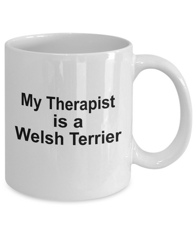 Welsh Terrier Dog Therapist Coffee Mug