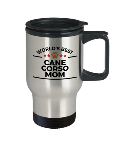 Cane Corso Dog Mom Travel Coffee Mug